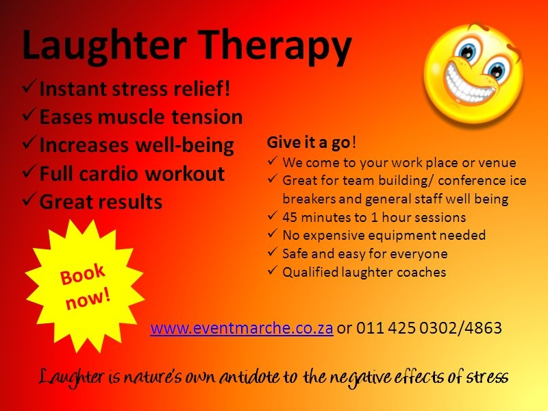 Laughter Therapy flyer